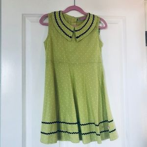 NWT Sophie & Sam Sleeveless Polka Dot Dress